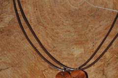 Holzschmuck - Anhänger für frisch Verliebte
