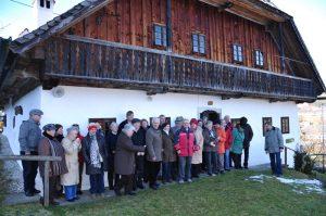 Kripperl-Roas in der Viechtau bei Altmünster