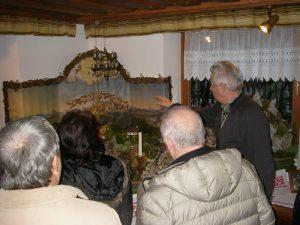 Krippen besuchen im Salzkammergut