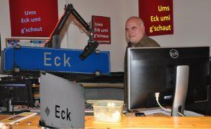 Werner Miklautsch im Freien Radio Salzkammergut