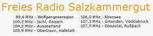 Radiofrequenzen Salzkammergut